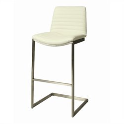 Pastel Furniture BuXton Bar Stool in Ivory