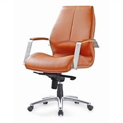 Pastel Furniture Andrew Office Chair in Brown