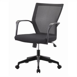 Pastel Furniture Bozano Office Chair in Black