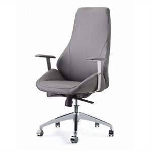 Pastel Furniture Canjun Office Chair in Gray