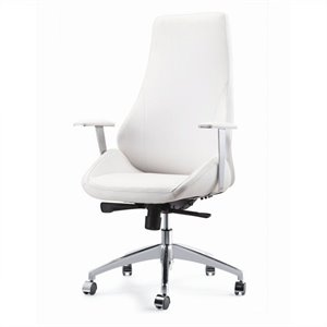 Pastel Furniture Canjun Office Chair in Ivory