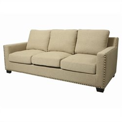 Pastel Furniture Aymara Sofa in Cream