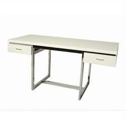 Pastel Furniture Dupont Office Desk in White