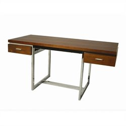 Pastel Furniture Dupont Office Desk in Walnut