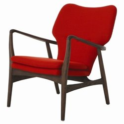 Pastel Furniture Elizabeth Club Chair in Red