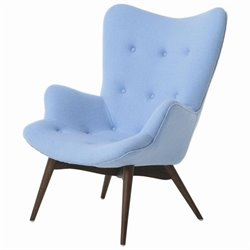 Pastel Furniture Gelsenkirchen Club Chair in Light Blue
