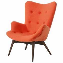 Pastel Furniture Gelsenkirchen Club Chair in Orange