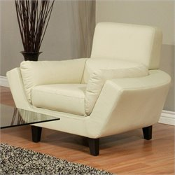 Pastel Furniture New Zealand Upholstered Club Chair in Ivory