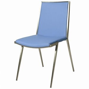Pastel Furniture Roxanne  Dining Chair in Light Blue