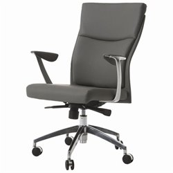 Pastel Furniture New Jersey Office Chair in Gray