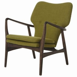 Pastel Furniture Elizabeth Club Chair in Green
