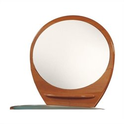 Global Furniture USA Emily Mirror in Cherry