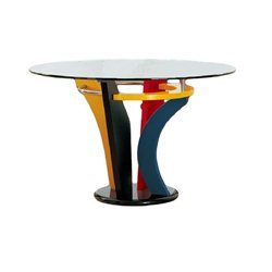 Global Furniture USA Neville Casual Multi-Color Dining Table