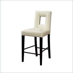 Square Cutout Bar Stool
