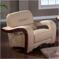 Global Furniture USA 992 Chair in Cappuccino