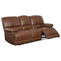 Global Furniture USA 9963 Reclining Sofa in Rodeo Brown