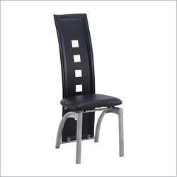 Global Furniture Contemporary Dining Chair in Black