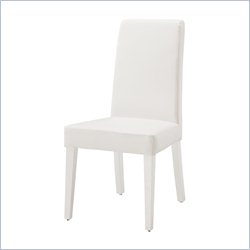 Global Furniture Dining Chair in Glossy White