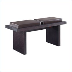 Global Furniture Upholstered Bench in Brown