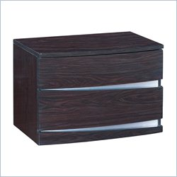 Global Furniture Aurora Nightstand in Wenge