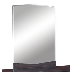 Global Furniture Aurora Big Dresser Mirror in Wenge