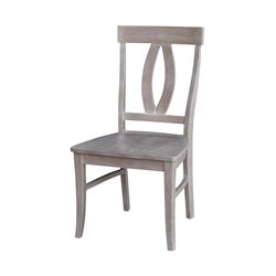 Dining Chair in Weathered Gray (Set of 2)