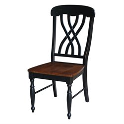 Dining Chair in Aged Ebony (Set of 2)