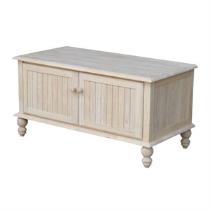 International Concepts Cottage Blanket Chest