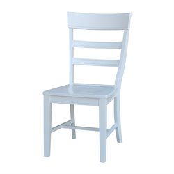International Concepts Hammerty Dining Chair in White (Set of 2)
