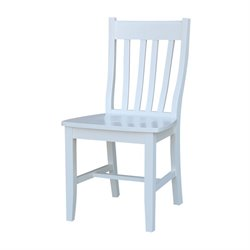 International Concepts Dining Chair in White (Set of 2)