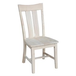 International Concepts Ava Unfinished Dining Chair (Set of 2)