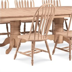 International Concepts Unfinished Windsor   Dining Chair
