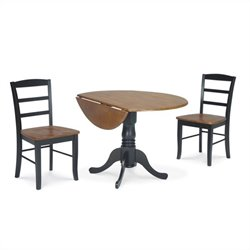 3 Piece Round Dining Set