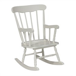 Kids Rocker in Linen White
