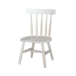 International Concepts Unfinished Tot's chair (set of 2)
