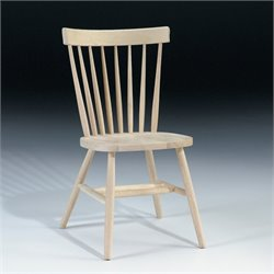 International Concepts Unfinished Copenhagen Dining Chair