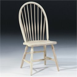 International Concepts Unpainted Tall Windsor  Dining Chair