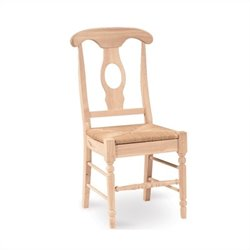 Unfinished Empire Dining Chair Set of 2
