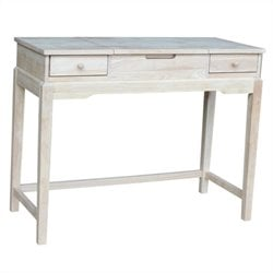 International Concepts Home Accents Unfinished Vanity Table