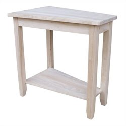 International Concepts Home Accents Unfinished Keystone Accent Table