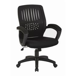 Office Star Work Smart Office Chair in Black