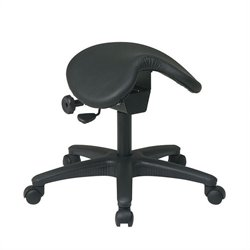 Office Star Work Smart Backless Drafting Chair