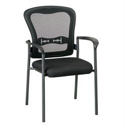 Office Star Pro-Line II Guest Chair in Coal