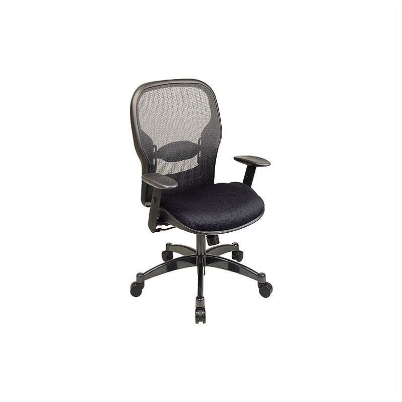 Office Star SPACE Collection: Matrex Back Office Chair in Black