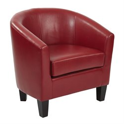 Office Star Work Smart and Ave Six Accent Chair-BB