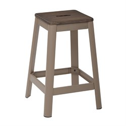 Office Star Work Smart and OSP Designs Barstool in Cappuccino