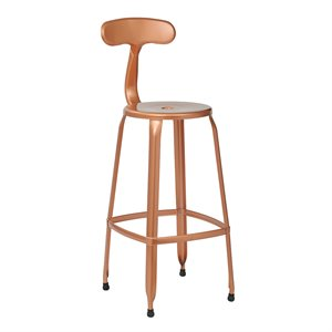 Office Star OSP Designs Metal Barstool (Set of 4)-CH