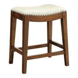 Office Star OSP Design Counter Stool in Cream-ZZ