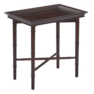 Office Star OSP Designs Serving Accent Table in Brown