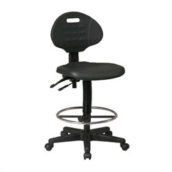Office Star Ergonomic Drafting Chair with Adjustable Footrest